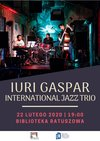 Iuri Gaspar International Jazz Trio w Bibliotece Ratuszowej